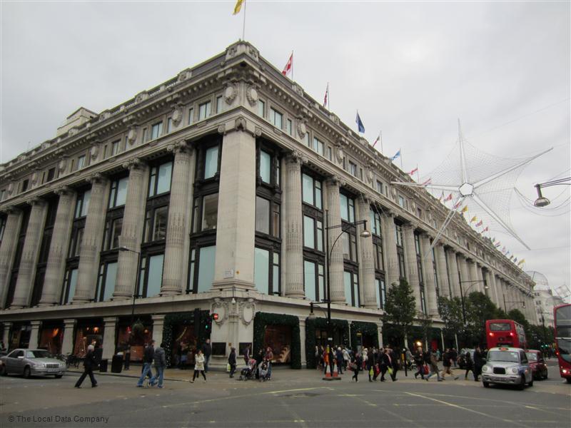 Travelex Exchange Selfridges London Contact Directory Uk