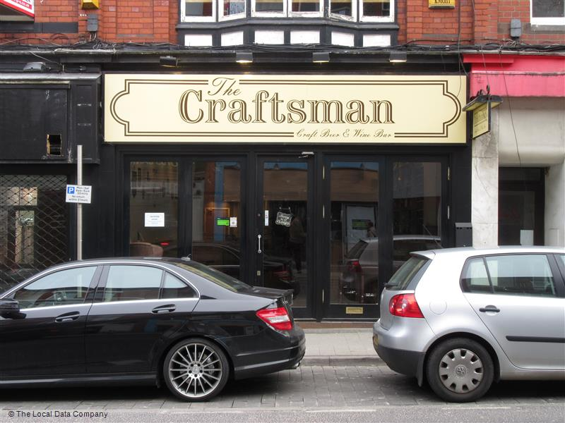 The Craftsman shop front, Altrincham